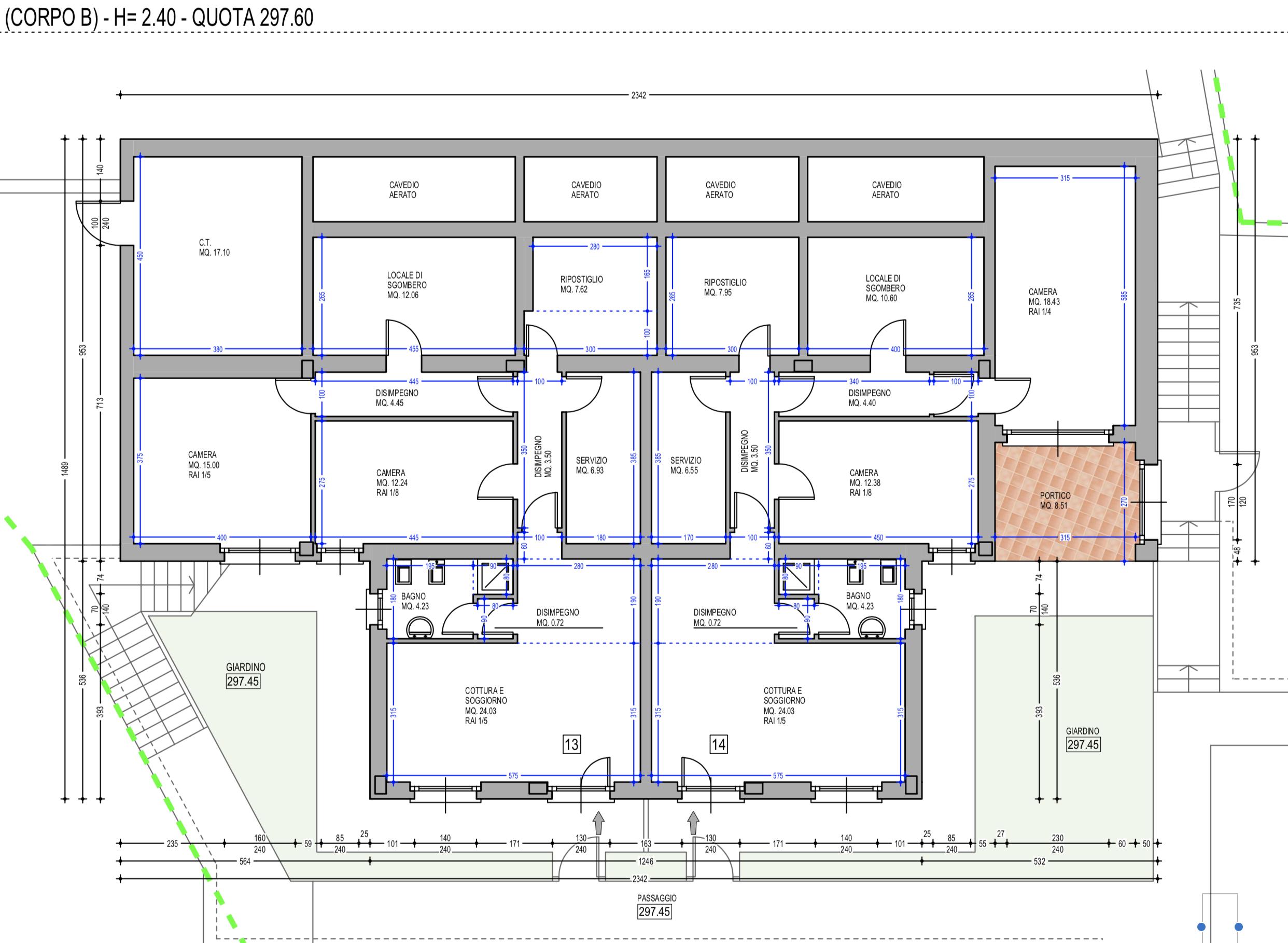 Plan Apartment 14