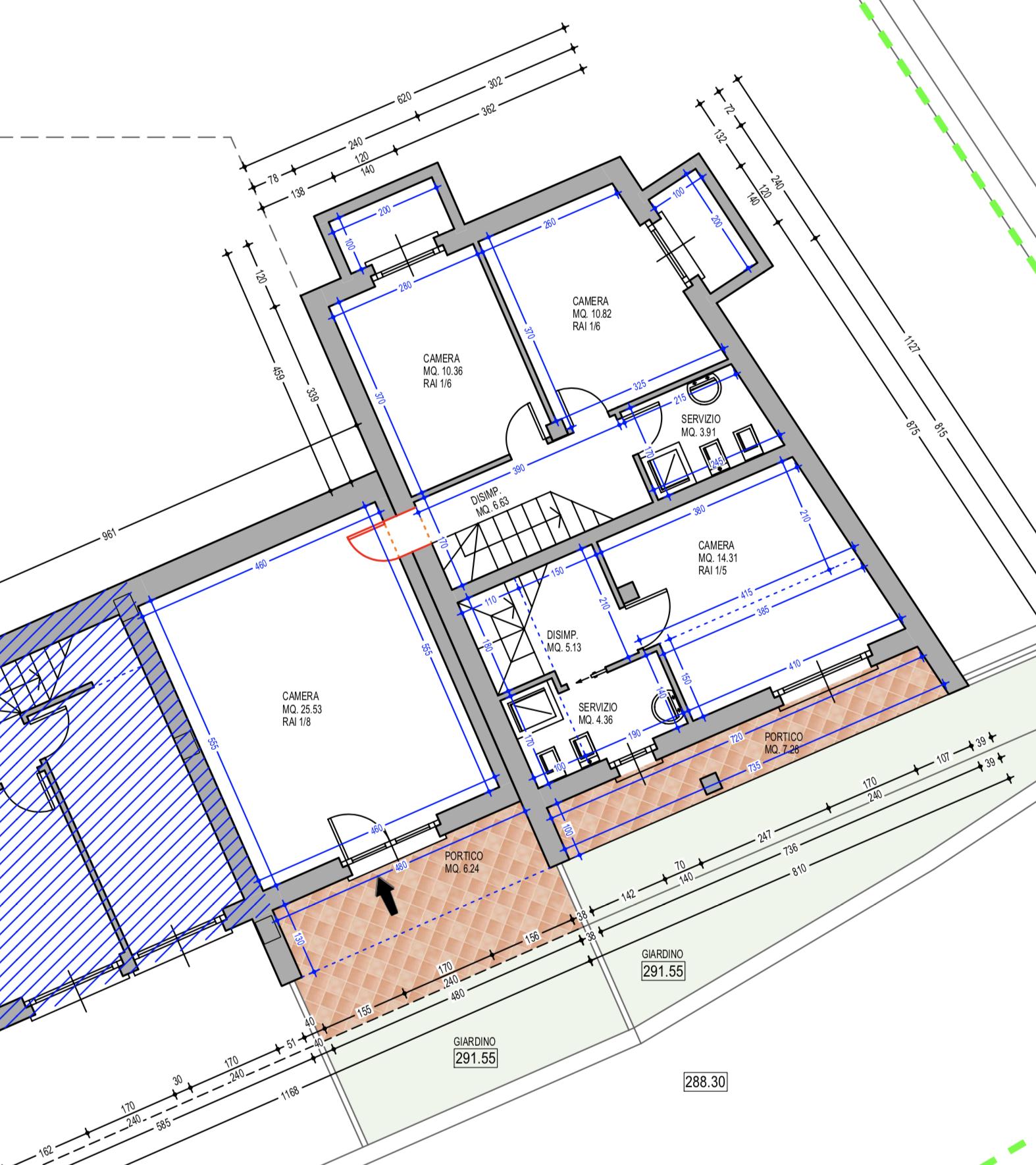 Plan apartment 29